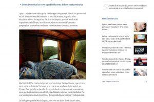 Quito – Entre los temores por el alto nivel de contagio de COVID-19 y la urgencia por mantener a flote sus negocios de turismo