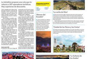 Cinco ciudades de la Sierra han formado el primer 'road trip' del Ecuador
