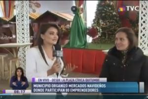 Municipio organizó Mercados Navideños donde participan 80 emprendedores