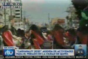 Las personas que no salgan de Quito por el feriado de carnaval podrán disfrutar de varias actividades en la ciudad