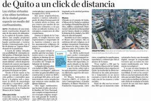 Las visitas virtuales a los sitios turísticos de la ciudad ganan espacio en medio del confinamiento